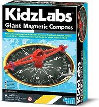 KidzLabs Compás Magnético Gigante 4M