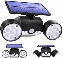 KIHUGL Luz Solar 30LED, lámpara Solar de Doble