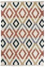 Kilim 11 Alfombra manual de lana