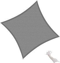 KingShade Toldo Vela Cuadrado 2x2m Vela de Sombra