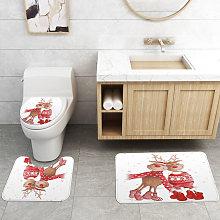 Kingso - Baño Ducha Cubierta de asiento de