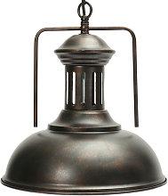 Kingso - Lámparas colgantes retro Lámpara de