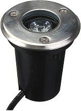 Kingso - Smuxi 1W LED impermeable al aire libre en