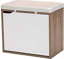 Kit Closet 41000 Banco Zapatero, Cerezo, Blanco,
