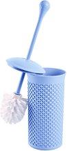 Kit Escobilla de Baño 7house Azul