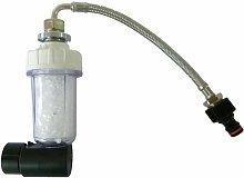 Kit filtro anticalcáreo para ducha solar cm