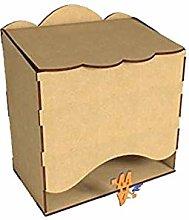 Kit para hacer pañalera Una vez montado mide