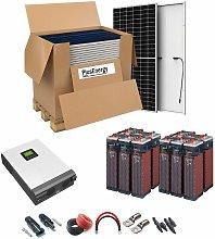 Kit Solar 48v 7200w Inversor Híbrido, 5Kw Mppt