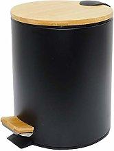 KITCHEN MOVE BAT-978297 BLACK - Cubo de basura de