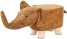 KJHGK Footstool De Animales Elefante Sofá Sofá