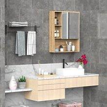 kleankin Armario con Espejo Armario de Baño