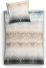 Kleine Wolke Juego de Cama, Beige, 155 x 220 cm