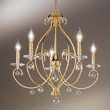 KOLARZ Carat - lámpara de araña de 5 luces