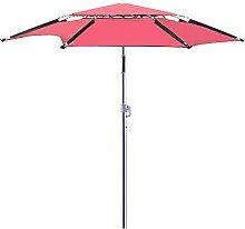 KUWD Parasol de Aluminio Grande, Sombrilla de