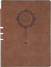 KYAM Libreta Cuaderno Agenda Cuaderno de Cuero