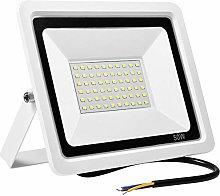 Kymzan - Foco LED exterior impermeable IP65, 50 W,