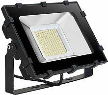 Kymzan - Proyector LED exterior (100 W, 1000 lm,