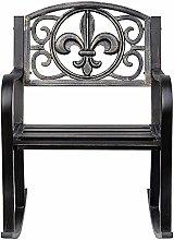 La apariencia antigua, la hermosa silla mecedora