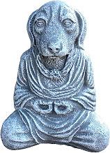 La decoracion del jardin La estatua Perro de la