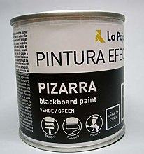 La Pajarita Pintura Efecto Pizarra, 250ML, Verde,