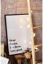 Láminas Decorativas de Navidad (50x70 cm) Niev A
