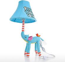 Lampara Animal enchufe de la lampara azul del