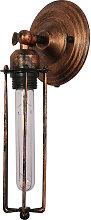 Lámpara Candelabro de pared– Acero de Carbono