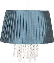 Lámpara colgante 0463 con cortina, petróleo