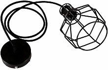Lámpara Colgante de Candelabro de Hierro Creativo