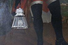 Lámpara colgante de cristal Beatrix
