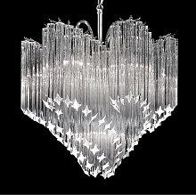 Lámpara colgante de cristal Chiocciola