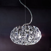 Lámpara colgante de cristal de vidrio ANDROMEDA