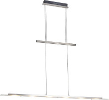 Lámpara colgante de diseño en acero con LED -