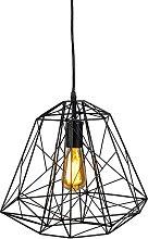 Lámpara colgante de diseño negra - FRAMEWORK