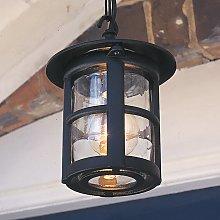 Lámpara colgante de exterior Hereford