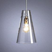Lámpara colgante de Schnepel cristal transparente
