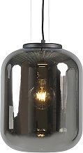 Lámpara colgante diseño cristal ahumado - BLISS