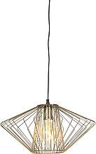 Lámpara colgante diseño latón - STIEL