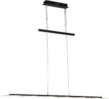 Lámpara colgante diseño negra LED - PLATINA