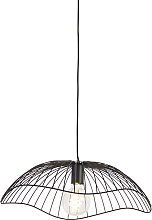 Lámpara colgante diseño negro 50cm - PUA