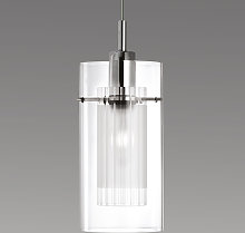 Lámpara colgante DUO 1 decorativa, 1 llama