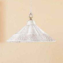 Lámpara colgante Gonnella, decoración inferior