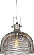 Lámpara colgante industrial acero - ARTI Wire