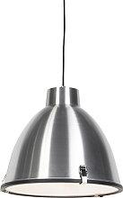 Lámpara colgante industrial aluminio 38cm -
