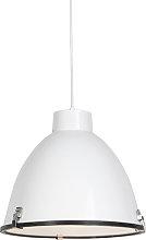 Lámpara colgante industrial blanca 38cm - ANTEROS
