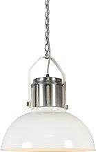 Lámpara colgante industrial blanca - INDUSTRIAL 37
