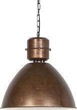 Lámpara colgante industrial bronce - FLYNN