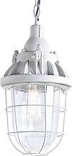 Lámpara colgante industrial gris - CABIN