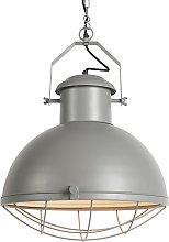 Lámpara colgante industrial gris - ENGINE