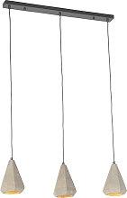 Lámpara colgante industrial hormigón - HORMIGO
